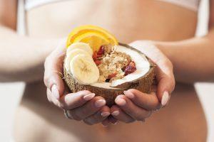 ココナッツ・フルーツ・ナッツ、健康食